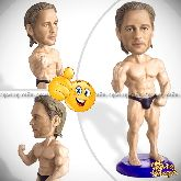 Кукла шарж бодибилдеру «Мистер Олимпия»