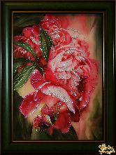 Картина Цветы пионов