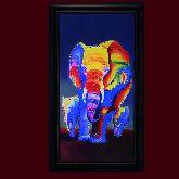 Картина Слоны 1