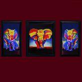 Картина Слоны Триплекс