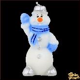 Свеча Снеговик