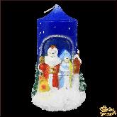 Свеча Дед Мороз и Снегурочка