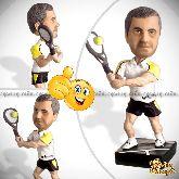 Кукла шарж теннисисту «Золотая ракетка мира»