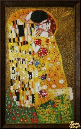 Картина Поцелуй Климт