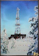 Картина Нефтяная вышка