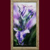 Картина Каллы фиолетовые малые