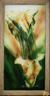 Картина Каллы желтые малые