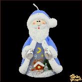 Свеча мигающая Хамелеон Дед Мороз