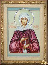 Икона Ксения Петербургская малая
