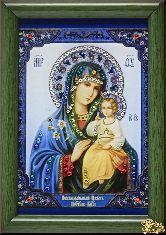 Икона Божией Матери Неувядаемый цвет малая
