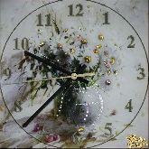 Часы Букет ромашек