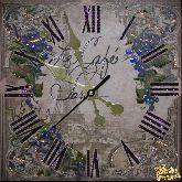 Часы Виноградная лоза