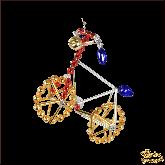 Ёлочная игрушка ручной работы пр-во Чехия Велосипед