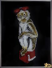 Картина Обезьяна и очки