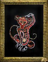 Картина Огненная обезьяна