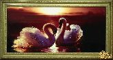Картина Багряный закат