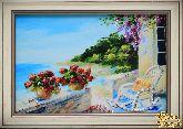 Картина Терраса у моря