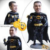 "Кукла шарж мужчине ""Неустрашимый Бэтмен"" 20см."