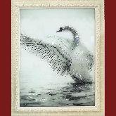 Картина Белый лебедь