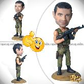 Кукла шарж игроку cs «Контртеррорист-2»