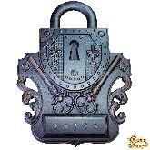 """Ключница настенная открытая """"Замок 4"""""""