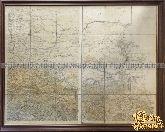 Карта Ставропольской губернии и Закавказского края