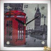 "Часы ""Лондон"" 15х15см"