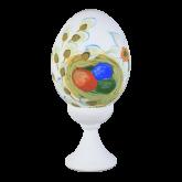 Пасхальное яйцо куриное на подставке Пасхальные яйца