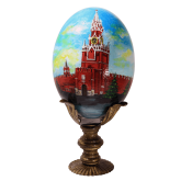 Пасхальное яйцо страусиное Москва