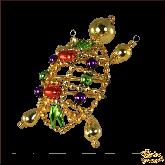 Ёлочная игрушка ручной работы пр-во Чехия Черепаха