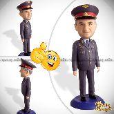 Кукла шарж сотруднику полиции по фото 20см.
