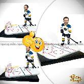 Кукла шарж хоккеисту «Первый на поле»