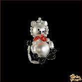 Ёлочная игрушка ручной работы пр-во Чехия Кошка