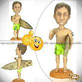 Кукла шарж серфингисту «Серф – это жизнь!»