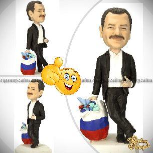 Кукла шарж начальнику «Всероссийский лекарь»