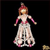 Ёлочная игрушка ручной работы пр-во Чехия Принцесса