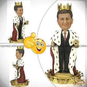 Заказать шарж руководителю «Железный король»