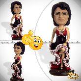Кукла шарж танцовщице «Шикарная»