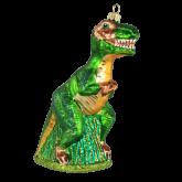 Ёлочная игрушка из Польши Тираннозавр Рекс