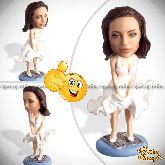 Кукла шарж подруге «Мэрлин Монро»