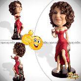 Кукла шарж женщине «Клубная леди»