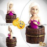 Кукла шарж женщине «Девушка в бане»