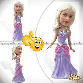 """Кукла шарж девушке """"Милая принцесса"""" 20см."""