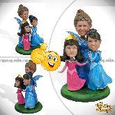 """Кукла шарж жене """"Моя сказочная семья"""""""