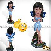 """Кукла шарж девушке """"Прелестная фея"""""""
