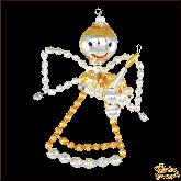 Ёлочная игрушка ручной работы пр-во Чехия Ангел