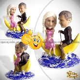 Кукла шарж паре «Вокруг Земли»