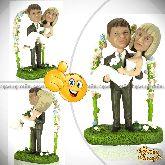 Кукла шарж паре «Свадьба каждый год»