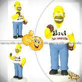 """Кукла шарж по фото """"Гомер Симпсон"""""""