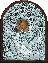 Образ Богородицы Владимирская 4 - ЮЛ - 07 19*25